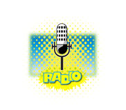 Radio Microphone Stock Photos
