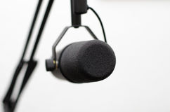 Radio microphone stock photography