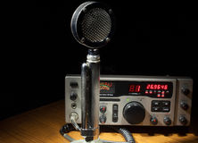 Radio and mike Stock Photography