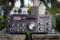 Radio militaire Photos stock