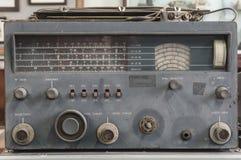 Radio militaire antique Images stock