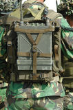 Radio militar Foto de archivo libre de regalías