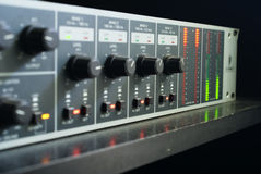 Radio mixer Royalty Free Stock Photography
