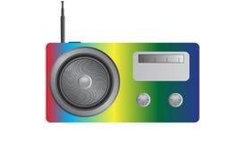 Radio Multicoloured Fotografia Stock