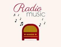 Radio music Royalty Free Stock Photos