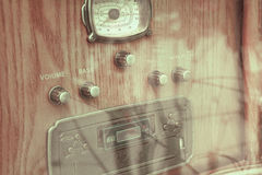 Radio- och bandspelare Royaltyfri Bild