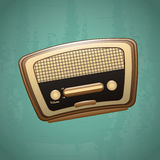 Radio old Royalty Free Stock Photo