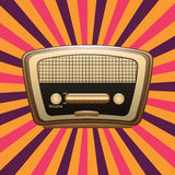 Radio old Stock Image