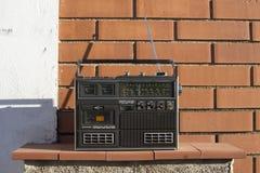 Radio outside Stock Image