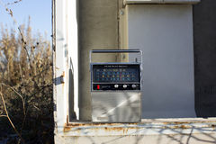 Radio outside Stock Photo