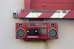 Radio outside Royalty Free Stock Photo