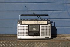 Radio outside Royalty Free Stock Images