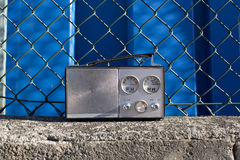 Radio outside Royalty Free Stock Photos
