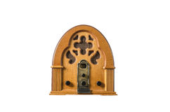 Radio player vintage old Stock Image