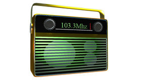 Radio portative Photos stock