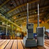 Radio portative industrielle Photographie stock