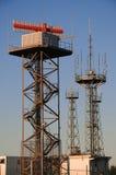 Radio and Radar station Stock Images