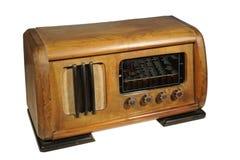 Radio receiver,isolated on white Royalty Free Stock Photo