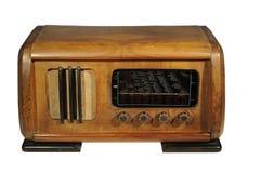 Radio receiver,isolated on white Stock Photo