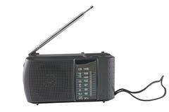 Radio receiver. On a white background Stock Photos