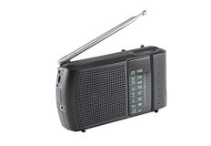 Radio receiver. On a white background Royalty Free Stock Images