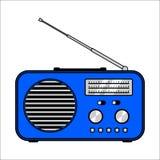 Radio receiver on white background royalty free stock photo