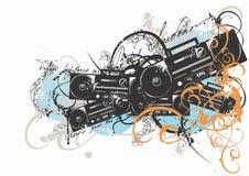 Radio reeks royalty-vrije illustratie