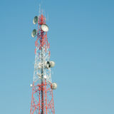Radio Relay Link Royalty Free Stock Photography