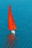Radio remote control rc sailing yacht boat simulation model Royalty Free Stock Photography