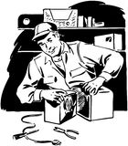 Radio Repairman 3 Royalty Free Stock Photos
