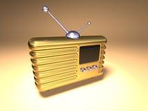 Radio retra Imagen de archivo libre de regalías