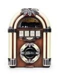 Radio retra de la máquina tocadiscos Imagenes de archivo