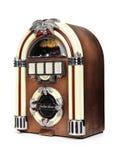 Radio retra de la máquina tocadiscos Imagen de archivo libre de regalías