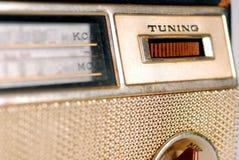 Radio retra de la vendimia Imágenes de archivo libres de regalías