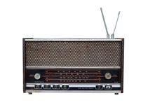 Radio retra sucia Fotografía de archivo