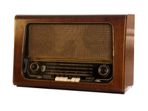 Radio retra vieja Fotos de archivo