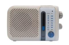 Radio Retro. Isolated on white background Stock Photos
