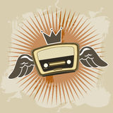 Radio retro Royalty Free Stock Photography