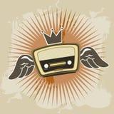 Radio retro Royalty Free Stock Photography