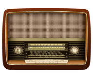 Radio retro. Stock Photos