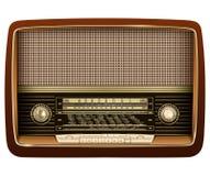 Radio retro. Stock Photos