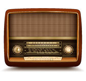 Radio retro Royalty Free Stock Images