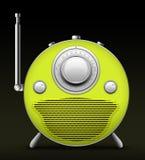 Radio roja stock de ilustración