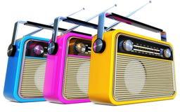 Radio's royalty-vrije illustratie