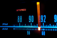 Radio scale 01 Stock Photography