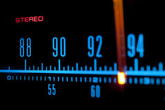 Radio scale 02 Royalty Free Stock Photos