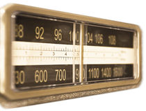 Radio. The scale of old radio Stock Images