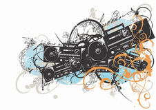 Radio set royalty free illustration
