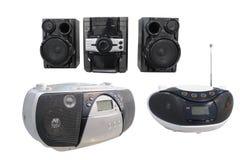 radio sets Royaltyfri Foto