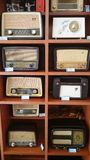 Radio sets collection Stock Image